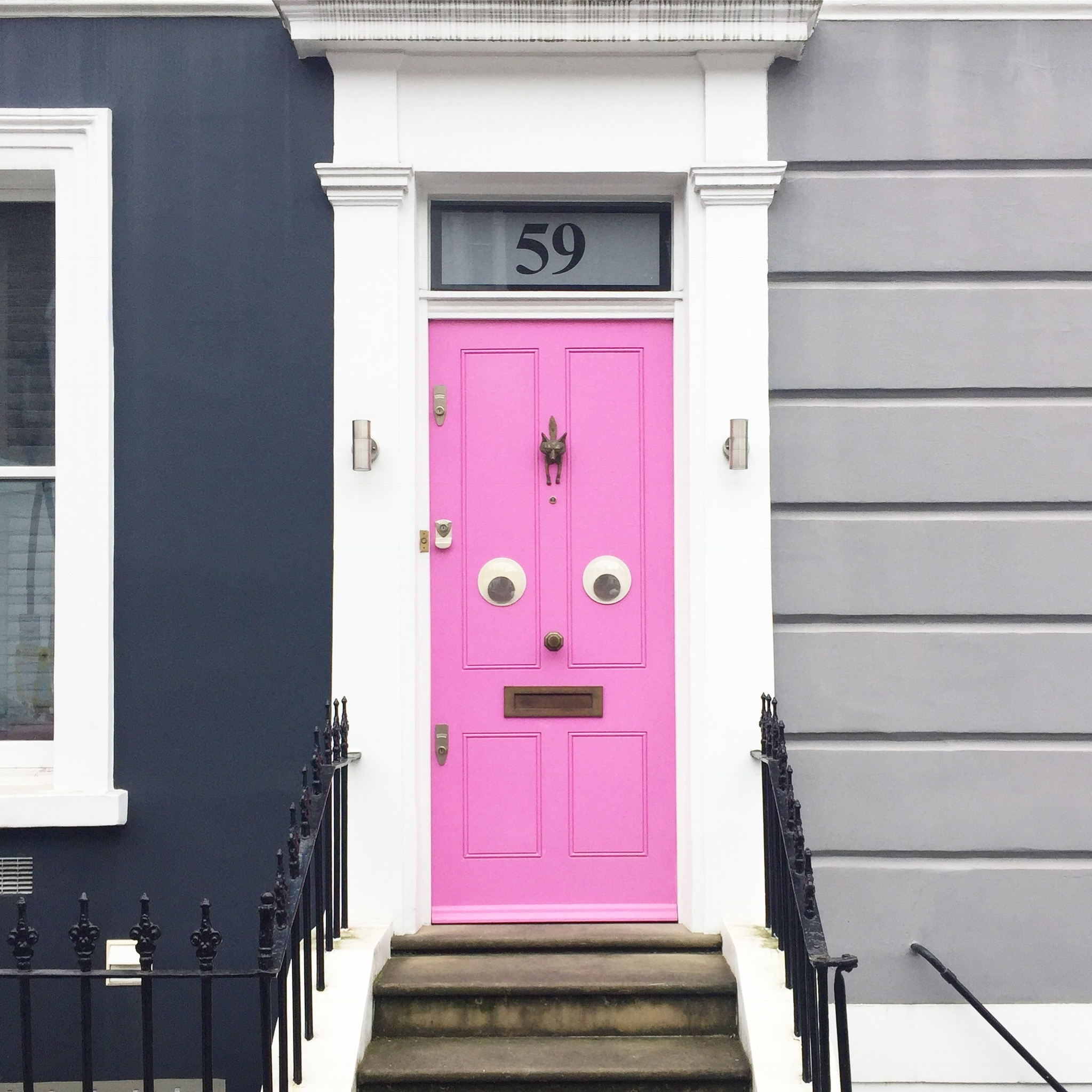 Holland Park door HIll and Friends & The top 8 pink doors of London u2013 London is Pink